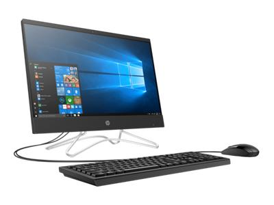 "HP 22-c0022ds (NON-TOUCH) All-in-One PC, 21.5"" FHD, Intel Celeron J4005, 2.00GHz, 4GB RAM, 1 TB HDD, Windows 10 Home 64-Bit, Jet-Black - 3LC29AA#ABA (Certified Refurbished)"