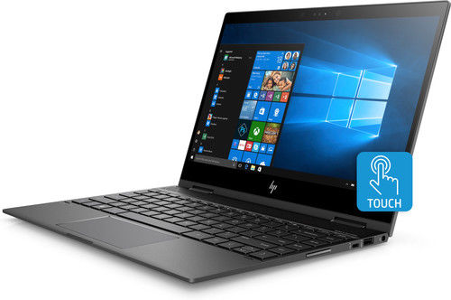 "HP Envy X360 13m-ag0001dx 13.3"" Full HD Touch Notebook, AMD Ryzen 5, 8GB RAM, 128GB SSD, Windows 10 Home - 4AC53UA#ABA (Certified Refurbished)"
