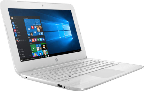 "HP Stream 11-ah131nr 11.6"" HD Notebook Intel Celeron N4000 4GB RAM 32GB eMMC Windows 10 S-64Bit 4FW37UA#ABA"