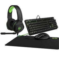 HP Pavilion Gaming Bundle, Keyboard 500 + OMEN Mouse 400 + Gaming Mouse Pad 300 + Gaming Headset 400 - 4VC46AA#ABA