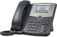 Cisco SPA 504G 4-Line IP Phone with Display, 4 x Total Line, VoIP, Caller ID, 2 x RJ-45, PoE Ports - SPA504G (Certified Refurbished)