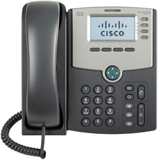 Cisco SPA 514G 4-Line IP Phone with Display, 4 x Total Line, VoIP, Caller ID, 2 x RJ-45, PoE Ports - SPA514G (Certified Refurbished)