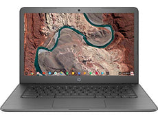 "HP 14-ca043cl 14"" FHD (Non-Touch) Chromebook, Intel Celeron N3350, 1.10GHz, 4GB RAM, 32GB eMMC, Chrome OS - 4YN65UA#ABA (Certified Refurbished)"