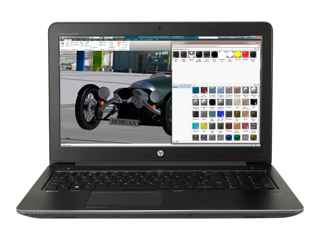 "HP ZBook 15 G3 15.6"" Full HD (Non-Touch) Mobile Workstation, Intel Core i7-6820HQ, 2.70GHz, 16 GB RAM, 512 GB SSD, Windows 10 Pro 64-Bit - 7WV56UT#ABA"