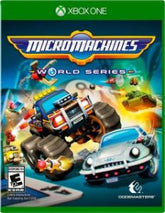 Square Enix Micro Machines World Series (Xbox One) Video Game, ESRB-E10+, Multiplayer Mode - D1389