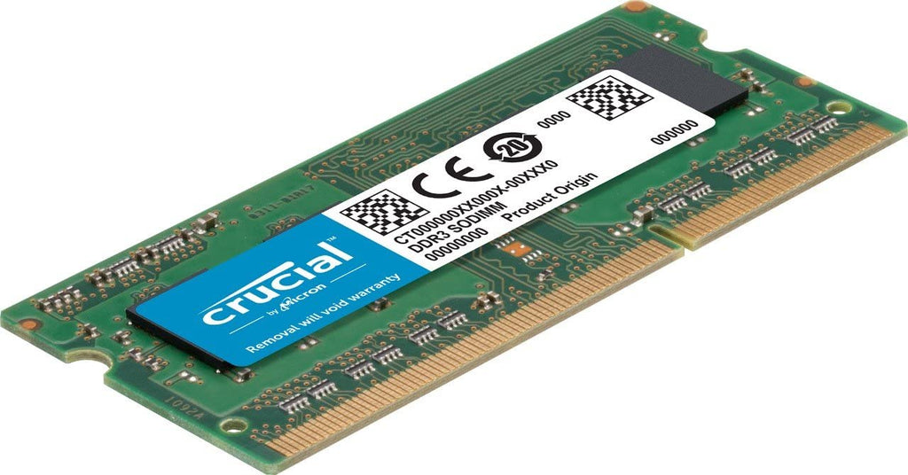 Crucial 8GB DDR3-1600 Non-ECC SODIMM RAM, 204-pin Memory Module for Mac- CT8G3S160BM