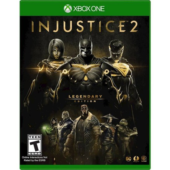 WB Injustice 2: Legendary Edition Video Game for Xbox One, ESRB-T13+, Multiplayer Mode - 1000709800