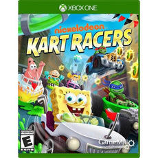 Nickelodeon: Kart Racers (Xbox One) Video Game, ESRB-E, Multiplayer Mode - NICK-KR-XB1