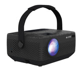 "Core Innovations 150"" HD Portable LCD Home Theater Projector, 3LCD, 500:1 - CPJ720BLBY"