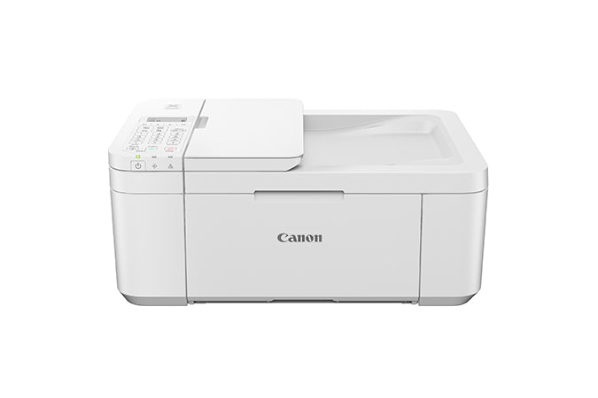 Canon PIXMA TR4520 Wireless Office All-In-One Printer, Inkjet Color Printer, USB & Wi-Fi Connectivity, White - 2984C022