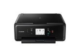 Canon PIXMA TS6220 Wireless Inkjet All-In-One Printer, Color Printer, Bluetooth, USB & Wi-Fi Connectivity, Black - 2986C002