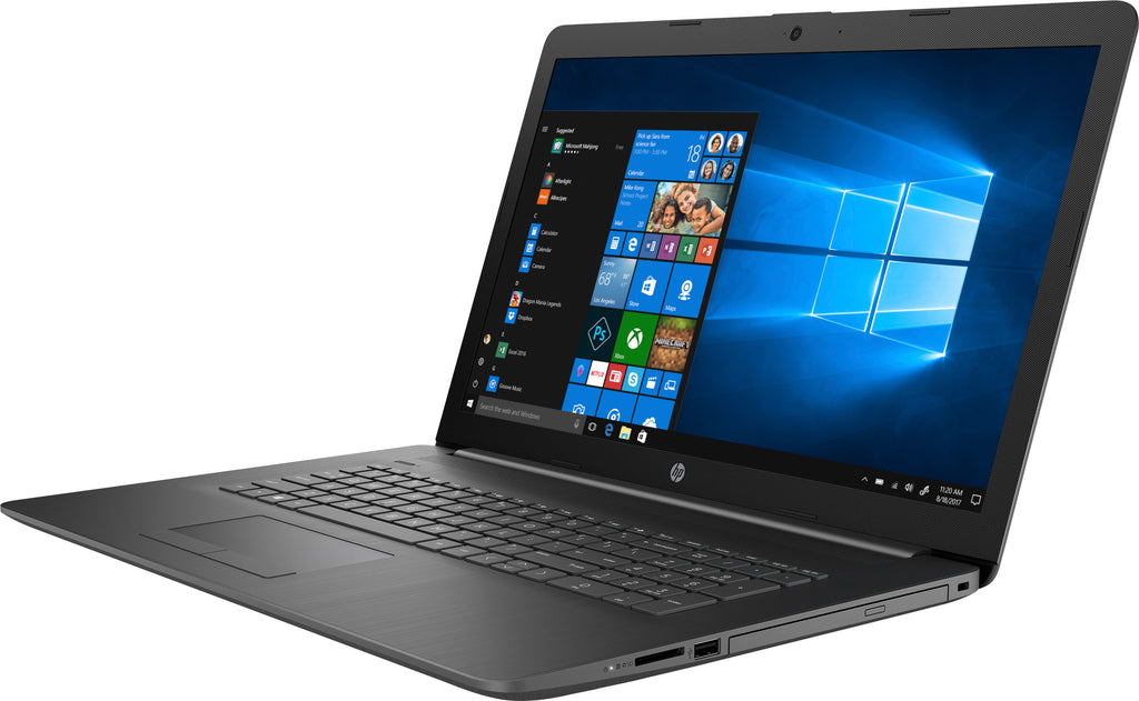 "HP 17-by1023cl 17.3"" HD+ (Touchscreen) Notebook, Intel Core i7-8565U, 1.80GHz, 8GB RAM, 512GB SSD, Windows 10 Home 64-Bit - 6MW69UA#ABA (Certified Refurbished)"