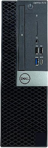 Dell OptiPlex 7070 SFF Desktop Computer, Intel i7-9700, 3.0GHz, 16GB RAM, 256GB SSD, Win10P - R46VK (Refurbished)