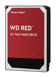 "Western Digital 8TB 3.5"" NAS Internal Hard Drive, 256 MB Cache, 5400 RPM, SATA/600 - WD80EFAX"