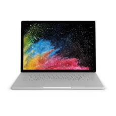 "Microsoft Surface Book-2 15"" PixelSense (Touchscreen) Detachable Laptop, Intel Core i7-8650U, 1.90Ghz, 16GB RAM, 256GB SSD, Windows 10 Pro 64-Bit - JJP-00001 (Certified Refurbished)"