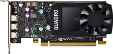 HP NVIDIA Quadro P400 2GB Graphics Card, PCIe 3.0 x16, Mini DisplayPort - 1ME43AT