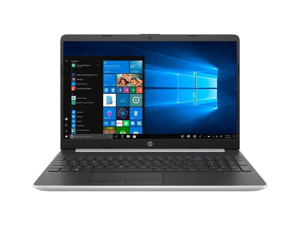 "HP 15-dw0043dx 15.6"" HD (Touchscreen) Notebook, Intel Core i5-8265U, 1.60GHz, 8GB RAM, 128GB SSD, Windows 10 Home S-Mode - 5VR72UA#ABA (Certified Refurbished)"