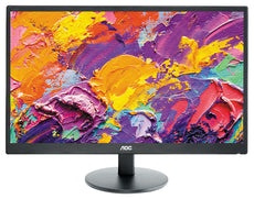 "AOC E2270SWHN 21.5"" Full HD LED Monitor, 5 ms, 16:9, 20M:1, 60Hz, Black - E2270SWHN (Certified Refurbished)"