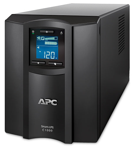 APC by Schneider Electric Smart-UPS C 1000VA LCD 120V with SmartConnect