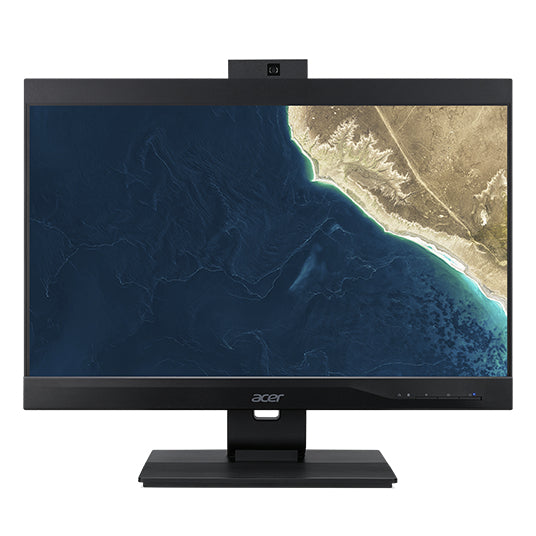 "Acer Veriton VZ4860G-I5850H1 23.8"" Full HD (Non-Touch) All-in-One Computer, Intel Core i5-8500, 3.0GHz, 16GB RAM, 1TB HDD, Windows 10 Pro 64-bit - DQ.VRZAA.001"
