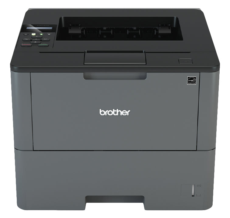 Brother Business Monochrome Laser Printer, 256MB Memory, 520 sheets, 48 ppm, WiFi, Duplex Printing - HL-L6200DW
