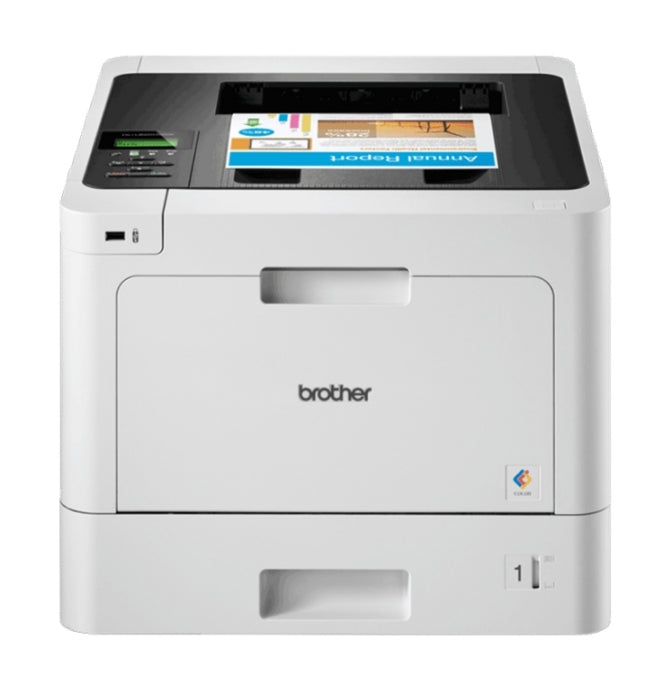 Brother Business Color Laser Printer, 256MB Memory, Ethernet, Wireless Printing, Duplex Printing  - HL-L8260CDW