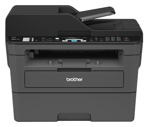 Brother MFC-L2710DW Monochrome Compact Laser All-in-One Printer, 64 MB Memory, Backlit LCD Display - MFC-L2710dw