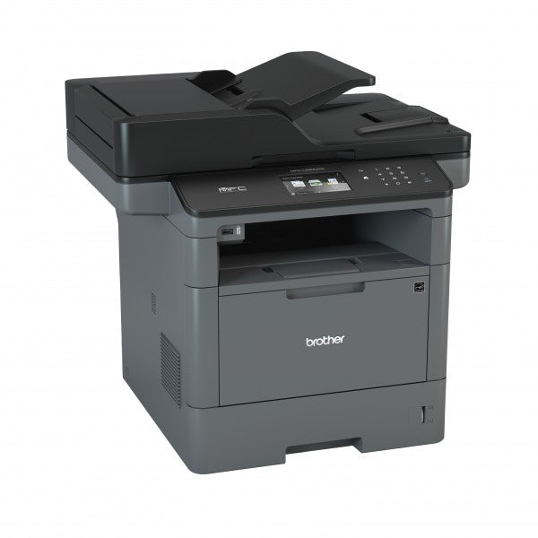 Brother MFC Monochrome Laser All-in-One Printer, 512MB Memory, Wireless, Ethernet, Color Touchscreen Display - MFC-L5900DW