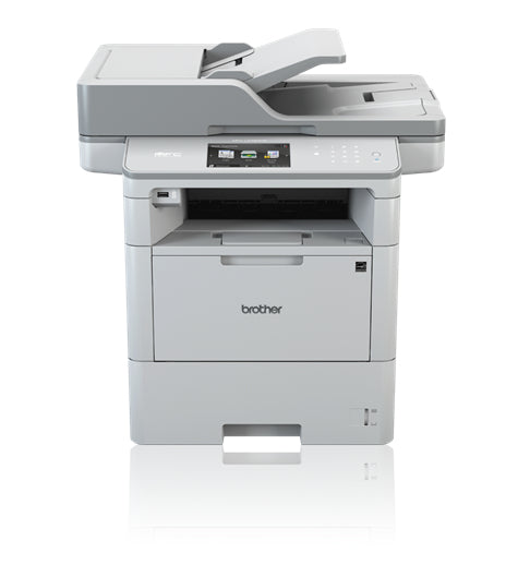 Brother MFC Monochrome Laser Multi-function Printer, 1GB Memory, Wireless, Ethernet, Color Touchscreen Display - MFC-L6900DW