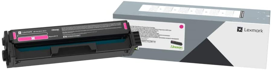 Lexmark Magenta Print Cartridge for Select Color Laser Printers, 1,500 Pages Yield - C320030