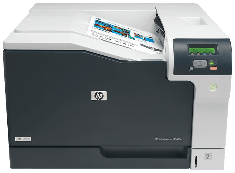 HP LaserJet Pro CP5225dn Color Laser Printer, 20/20 ppm, ImageREt 3600, 600 x 600 dpi, 192MB Memory, Ethernet, USB, Duplex Printing - CE712A#BGJ (Certified Refurbished)