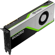 HP NVIDIA Quadro RTX 6000 24GB Graphics Card, PCIe 3.0 x16, DisplayPort, USB-C - 5JH80AT