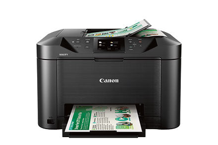 Canon MAXIFY MB5120 Wireless Small Office All-In-One Printer, Inkjet Color Printer, USB & Wi-Fi Connectivity, Black - 0960C002