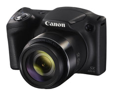 Canon PowerShot SX420 IS 20 Megapixel Compact Camera - Black 1068C001