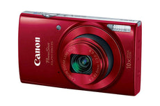 Canon PowerShot 190 IS 20 Megapixel Compact Camera - Red 1087C001