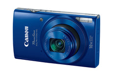 Canon PowerShot 190 IS 20 Megapixel Compact Camera - Blue 1090C001