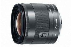 Canon EF-M 11 mm-22 mm,  f/4- 5.6 IS Zoom Lens for Canon EF-M, Black- 7568B002