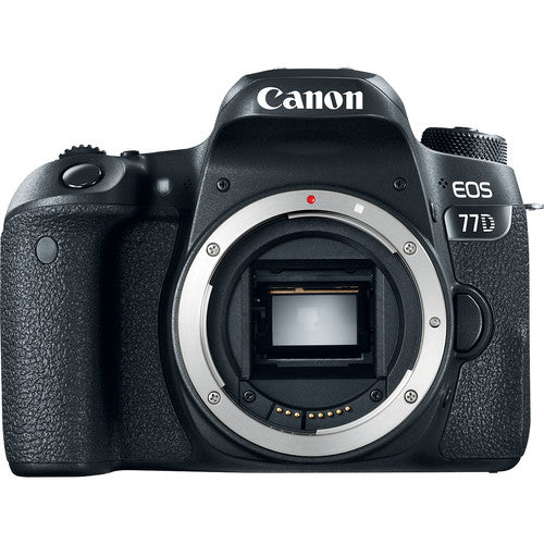 Canon EOS 77D 24.2 Megapixel Digital SLR Camera (Body Only) - 1892C001