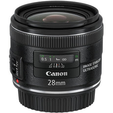 Canon EF 28 mm, f/2.8, Wide Angle Lens for Canon EF/EF-S, Black- 5179B002