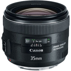 Canon EF 35 mm, f/2, Wide Angle Lens for Canon EF/EF-S, Black- 5178B002