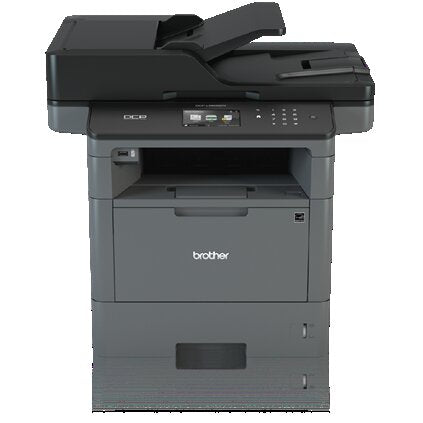 Brother DCP Monochrome Laser Multi-function Printer, 256MB Memory, Ethernet, Color Touchscreen Display - DCP-L5600DN