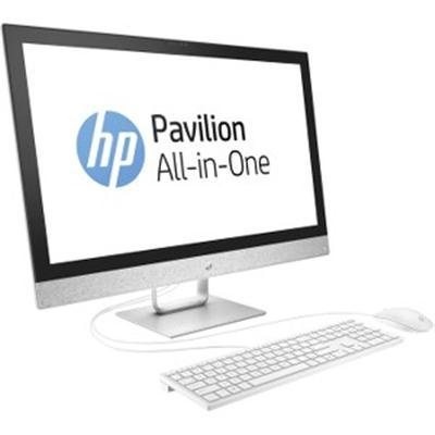 "HP Pavilion 27-r055se All-in-One Touch Desktop PC 27"" QHD Intel Core i7 16GB RAM 2TB SATA+256GB SSD Windows 10 Home White X6B89AA#ABA"
