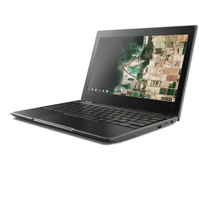 "Lenovo 100e  11.6"" LCD Chromebook Intel Celeron N3350 Dual-core 1.10 GHz 4GB 32GB Flash Memory Chrome OS 81ER0002US"
