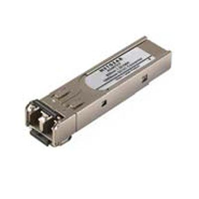 Netgear ProSafe 1000Base-SX SFP (mini-GBIC) Transceiver Module, Fiber Optic 1000 Mbit/s, LC Duplex Connector  - AGM731F