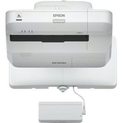 Epson BrightLink 697Ui Ultra Short Throw LCD Projector, 4400 Lumens, 3LCD WUXGA (1920 x 1200), 16,000:1, Wi-Fi - V11H823022