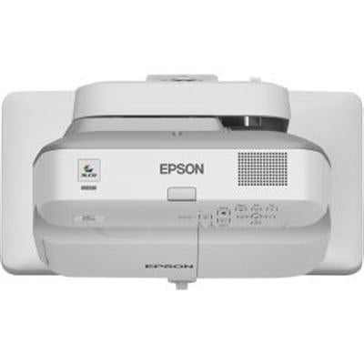 Epson BrightLink 685Wi Ultra Short Throw LCD Projector, 3LCD WXGA (1280x800), 3500 lumens, 14000:1, White - V11H741522