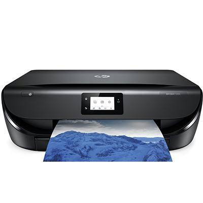 HP ENVY 5055 All-in-One Color Inkjet Printer, 10 ppm Black, 7 ppm Color, 4800 x 1200 dpi, 256 MB Memory, WiFi, USB 2.0, Duplex Printing  - M2U85A#B1H