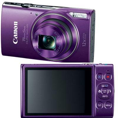 Canon PowerShot 360 HS 20.2 Megapixel Compact Camera - Purple 1081C001