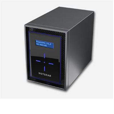 Netgear ReadyNAS 422 Insight Managed Smart Cloud Network Storage, 2GB Memory, 2 x USB3.0 Ports - RN42200-100NES