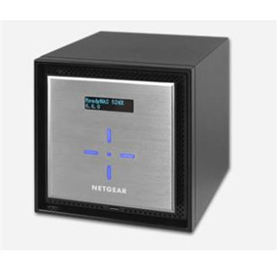 Netgear ReadyNAS 524X 4-bay Network Attached Storage Diskless, 40 TB, 4 GB RAM, USB 3.0 Ports, 10 Gigabit Ethernet, Desktop - RN524X00-100NES